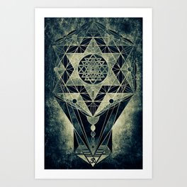 Sacred Geometry for your daily life- SRI YANTRA Art Print