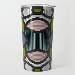 Pop Art Tiles Travel Mug