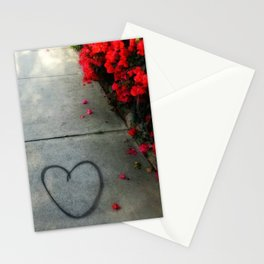 Street Heart Stationery Cards