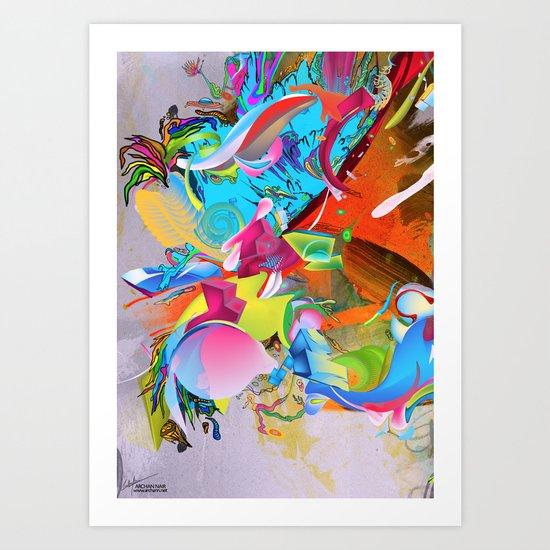 The Pulling Force Art Print