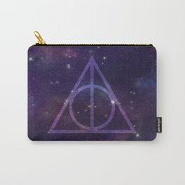 Deathly Hallows in Space Carry-All Pouch