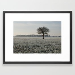Winter in Yorkshire Framed Art Print