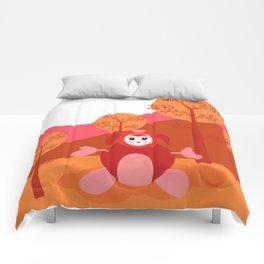 Cute monster Comforters