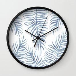 Fern Pattern Serenity Wall Clock