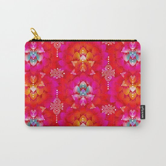 Variations on A Feather IV - Stars Aligned (Firebird Edition) Carry-All Pouch