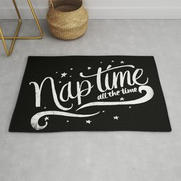Nap time all the time Rug