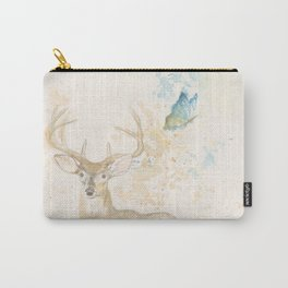 Deer and butterfly Carry-All Pouch