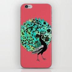 Neon Peacock iPhone & iPod Skin