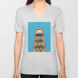 London Big Ben Unisex V-Neck