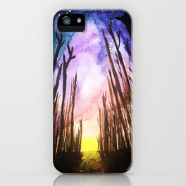 Twilight Woods iPhone Case