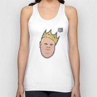 ford Tank Tops featuring Rob Ford by Ric_Hardwood