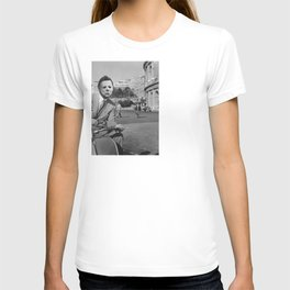 Michael Myers in Roman Holiday T-shirt
