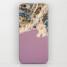 pink waters #society6 #decor #buyart iPhone Skin