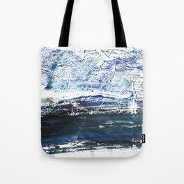 Gray-blue watercolor Tote Bag