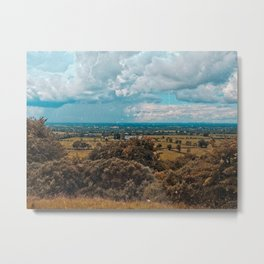 Somewhere in the Lake District, England Metal Print