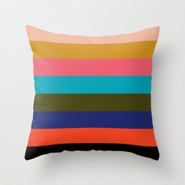 Color Pallette III Throw Pillow