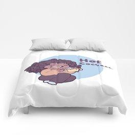 Hot cocoa... Comforters