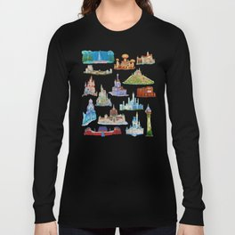 Princess Castles Long Sleeve T-shirt