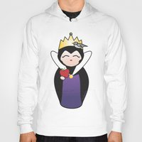 evil queen Hoodies featuring Evil Queen kokeshi by Pendientera