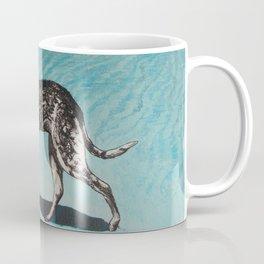 dot at the beach Coffee Mug