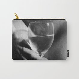 Nude with Wine Glass Carry-All Pouch