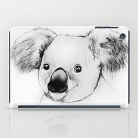koala iPad Cases featuring koala by Кaterina Кalinich