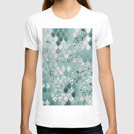 Mermaid Glitter Scales #3 #shiny #decor #art #society6 T-shirt