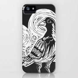 Proud Pigeon iPhone Case