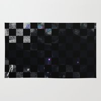 chess Area & Throw Rugs featuring chess by Gabriele Omar Lakhal