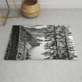 Forest Lake Retreat - Crater Lake Rug