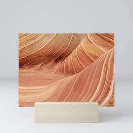 The Waves of the Coyote Buttes Mini Art Print
