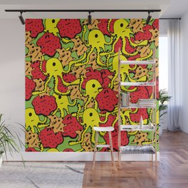 Monsters Wall Mural