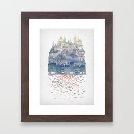 Serenissima - Venice in the Evening Framed Art Print