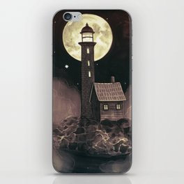 Lighthouse Ghosts iPhone Skin