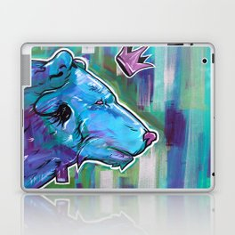 Blue Bear King Laptop & iPad Skin
