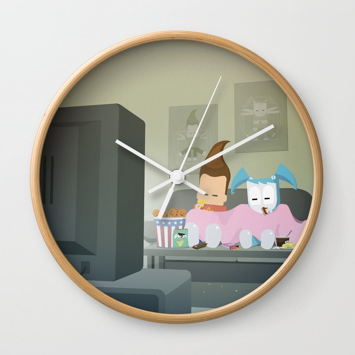The Nick Yorkers in November Wall Clock