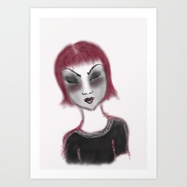 wish hard Art Print