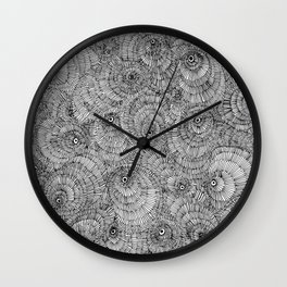 Parasitology No. 1 Wall Clock