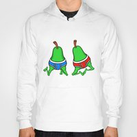 pear Hoodies featuring Gay Pear by mailboxdisco