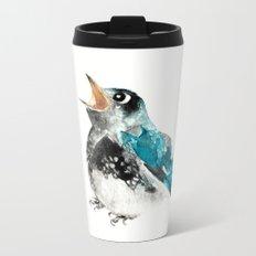 Bluebird Birthday Wish Metal Travel Mug