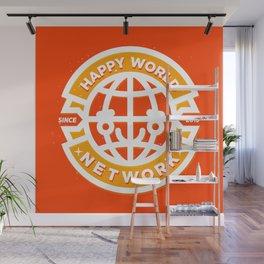 HAPPY WORLD NEWS NETWORK Wall Mural