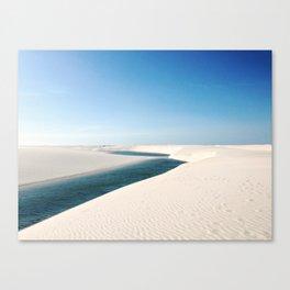 Lagoa Azul View Canvas Print