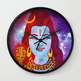 Shiva 'the auspicious one' Wall Clock