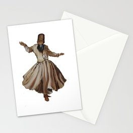 Whirling Dervish Conveys God's Spiritual Gift Stationery Cards