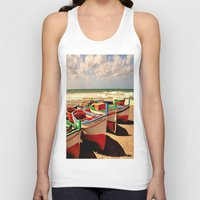 boats Tank Tops featuring boats by  Agostino Lo Coco