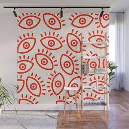 Eye Pattern Wall Mural