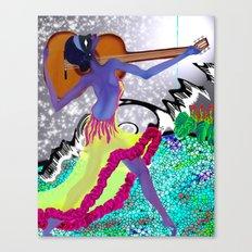 tengo tango Canvas Print