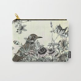 The thrush and a promise of Spring Carry-All Pouch