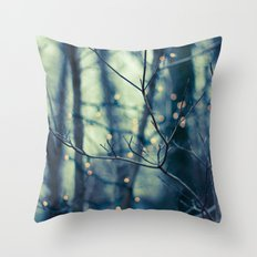 Woodland Holiday  Throw Pillow