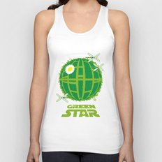 Green Star Unisex Tank Top